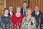 GALA: Friends from Fenit who met up at the Kerry Supporters Club Gala Dinner in Ballygarry House Hotel & Spa, Tralee on Saturday night were front l-r: Tess Fitzgerald, Eileen and Sheila King. Back l-r: Jim Fitzgerald, Patrick King and Vincent Locke.   Copyright Kerry's Eye 2008