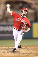 05/29/12 Anaheim, CA: Los Angeles Angels starting pitcher Dan Haren #24 during an MLB game played between the New York Yankees and the Los Angeles Angels at Angel Stadium. The Angels defeated the Yankees 5-1.
