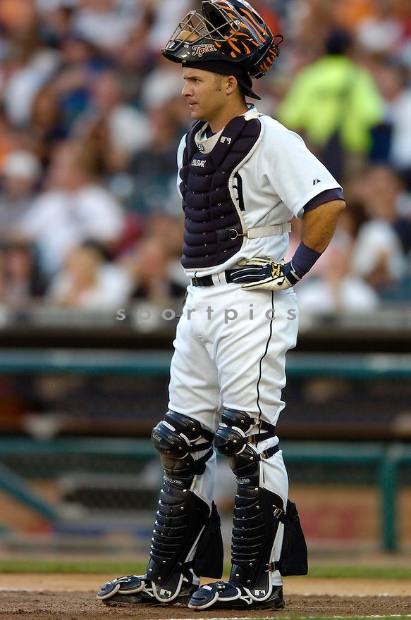 MIKE RABELO, of the Detroit Tigers, in action during the Tigers game against the New York Yankees in Detroit, MI on August 26, 2007...Tigers win 5-4..CHRIS BERNACCHI/ SPORTPICS.....