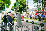 At the Royal Munster Fusiliers World War I remembrance monument Unveiling in Ballymullen on Saturday