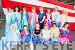 The little princesses from the performing, Arts Academy Killarney and North Kerry who marched in the USA Independence parade in Killarney on Monday evening