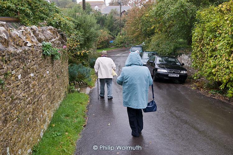 Langton Herring village, Dorset.