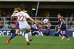 UEFA Women's Champions League 2017/2018.<br /> Quarter Finals.<br /> FC Barcelona vs Olympique Lyonnais: 0-1.<br /> Vicky Losada vs Lucia Bronze.