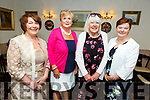 Breda Hurley (Guest Speaker), Mary O'Sullivan, Teresa Dinner and Ann Kearney attending the Spa Fenit Hospice annual Ladies Midsummer Lunch at the Oyster Tavern on Saturday