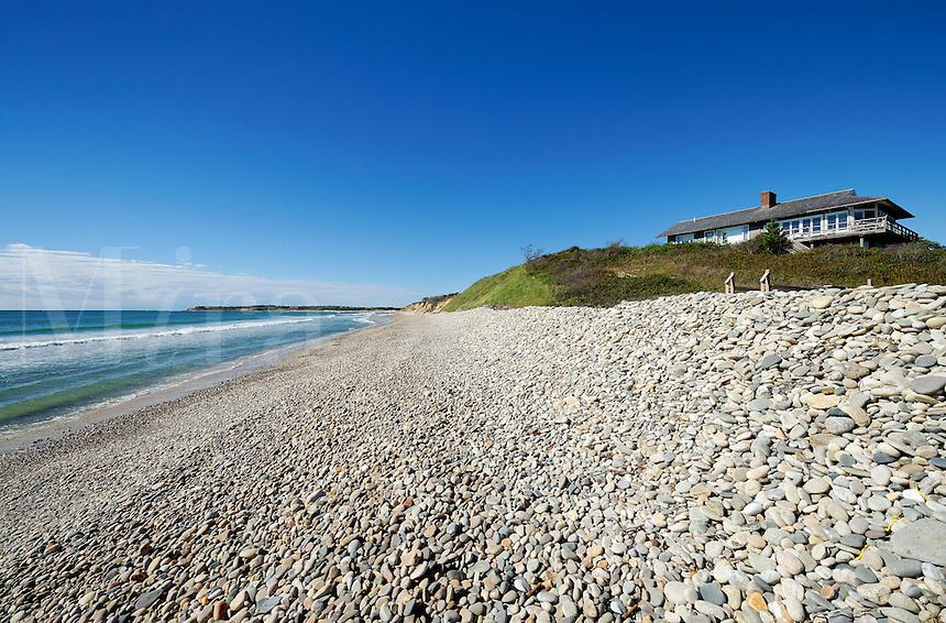 Beach house, Squibnocket Beach, Chilmark, Martha's Vineyard
