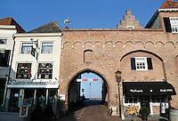 Nederland Zaltbommel 2016. Poort in het centrum van Zaltbommel.  Foto Berlinda van Dam / Hollandse Hoogte
