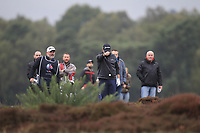 Shane Lowry (IRL) in the rough on the 2nd during Round 4 of the Sky Sports British Masters at Walton Heath Golf Club in Tadworth, Surrey, England on Sunday 14th Oct 2018.<br /> Picture:  Thos Caffrey | Golffile