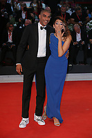 VENICE, ITALY - SEPTEMBER 05: Nina Zilli and Omar Hassan walk the red carpet ahead of the Gloria Mundi screening during the 76th Venice Film Festival at Sala Grande on September 05, 2019 in Venice, Italy. (Photo by Mark Cape/Insidefoto)<br /> Venezia 05/09/2019