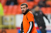 16th November 2019; Tannadice Park, Dundee, Scotland; Scottish Championship Football, Dundee United versus Queen of the South; Paul McMullan of Dundee United during the warm up before the match  - Editorial Use