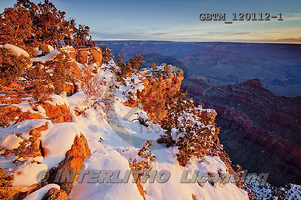 Tom Mackie, CHRISTMAS LANDSCAPE, photos,+America, American, Arizona, Grand Canyon National Park, North America, US, USA, United States, United States of America, gold+, golden, grand view, holiday destination, horizontal, horizontals, icon, iconic, landmark,landmarks, national park, natural+wonder of the world, orange, snow, snow-covered, sunrise, sunset, time of day, weather, winter, wonder,America, American, Ari+zona, Grand Canyon National Park, North America, US, USA, United States, United States of America, gold, golden, grand view,+,GBTM120112-1,#xl#