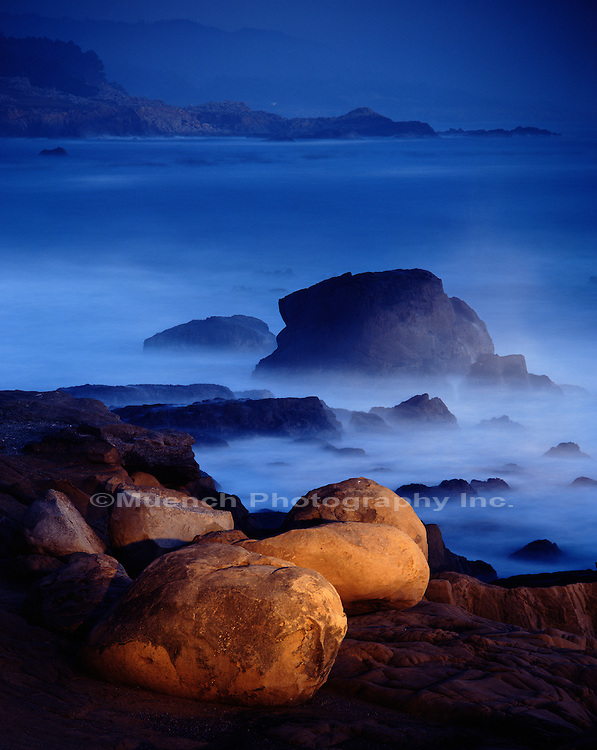 Evening Surf  Salt Point SP  CALIFORNIA