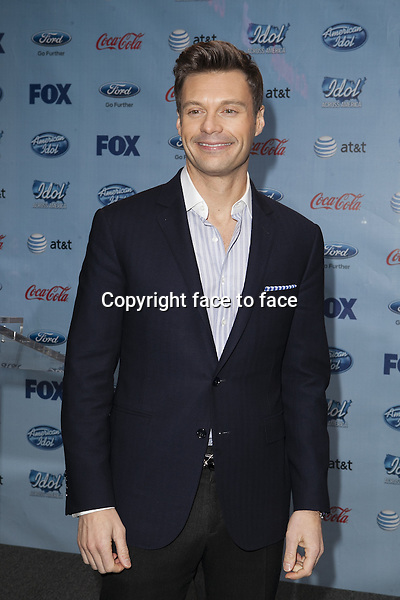 NEW YORK, NY - MARCH 1: Ryan Seacrest presents during the Idol Across America kick off press event on March 1, 2013 in New York City...Credit: MediaPunch/face to face..- Germany, Austria, Switzerland, Eastern Europe, Australia, UK, USA, Taiwan, Singapore, China, Malaysia and Thailand rights only -