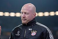 FUSSBALL  CHAMPIONS LEAGUE  VIERTELFINALE  HINSPIEL  2012/2013      FC Bayern Muenchen - Juventus Turin       02.04.2013 Matthias Sammer (FC Bayern Muenchen)
