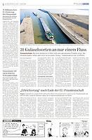 Die Presse (Austrian daily) on the Danube region, 2011.07.05. Photo: Martin Fejer