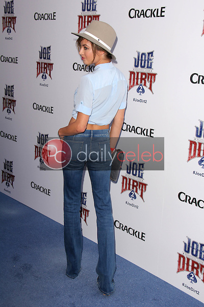 "Brittany Brousseau<br /> at the ""Joe Dirt 2: Beautiful Loser"" Premiere, Sony Studios, Culver City, CA 06-24-15<br /> David Edwards/DailyCeleb.Com 818-249-4998"
