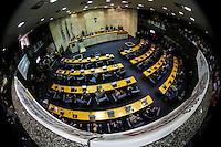 SAO PAULO, SP, 05 DE FEVEREIRO 2013 - ABERTURA ANO LEGISLATIVO -  Abertura da sessão de Abertura do Ano Legislativo da Câmara Municipal de São Paulo (SP), nesta terça-feira (5). FOTO: VANESSA CARVALHO - BRAZIL PHOTO PRESS
