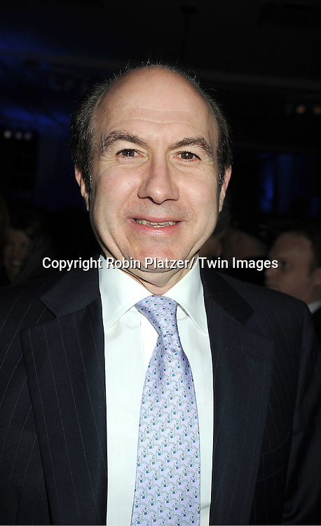Philippe Dauman attends the UJA-Federation of New York's Leadership Awards  Steve J Ross Humanitarian Award Dinner honoring David Zaslav, President & CEO of Discovery on April 3, 2012 at 583 Park Avenue in New York City.