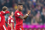 03.11.2018, Allianz Arena, Muenchen, GER, 1.FBL,  FC Bayern Muenchen vs. SC Freiburg, DFL regulations prohibit any use of photographs as image sequences and/or quasi-video, im Bild David Alaba (FCB #27) enttaeuscht<br /> <br />  Foto &copy; nordphoto / Straubmeier