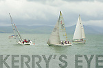 DISPLAY: Boats in Tralee Bay at the RNLI Regatt Day in Fenit on Sunday.
