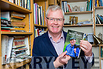 Killarney author Donal Hickey with his new book The Healy-Raes which he launches next Sunday in Kilgarvan