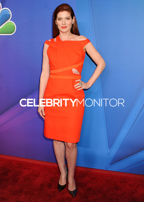 NEW YORK CITY, NY, USA - MAY 12: Debra Messing at the 2014 NBC Upfront Presentation held at the Jacob K. Javits Convention Center on May 12, 2014 in New York City, New York, United States. (Photo by Celebrity Monitor)