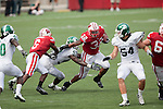 September 26, 2009: Wisconsin Badgers running back John Clay (32) carries the ball during an NCAA football game against the Michigan State Spartans at Camp Randall Stadium on September 26, 2009 in Madison, Wisconsin. The Badgers won 38-30. (Photo by David Stluka)