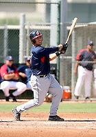 Michael Valadez / Cleveland Indians 2008 Instructional League..Photo by:  Bill Mitchell/Four Seam Images