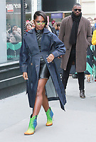 NEW YORK, NY - March 13: Ryan Destiny at Build Series promoting the new season of Star on March 13, 2019 in New York City. <br /> CAP/MPI/WG<br /> &copy;WG/MPI/Capital Pictures