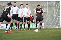 VOETBAL: DRACHTEN: 28-02-2015, Dachtster Boys - WHC, Eindstand: 3-0, ©foto Martin de Jong