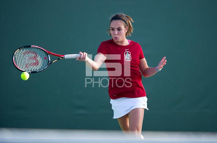 Natalie Dillon of the 2010 Stanford women's Tennis Team.