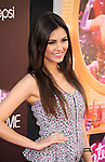 HOLLYWOOD, CA - JUNE 26: Victoria Justice arrives at 'Katy Perry: Part Of Me' Los Angeles Premiere at Grauman's Chinese Theatre on June 26, 2012 in Hollywood, California.