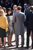Mariage du Prince Ernst junior de Hanovre et de Ekaterina Malysheva &agrave; l'&eacute;glise Markkirche &agrave; Hanovre.<br /> Allemagne, Hanovre, 8 juillet 2017.<br /> Wedding of Prince Ernst Junior of Hanover and Ekaterina Malysheva at the Markkirche church in Hanover.<br /> Germany, Hanover, 8 july 2017<br /> Pic :  Beatrice Borromeo &amp; Princess Charlotte Casiraghi