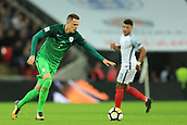 5th October 2017, Wembley Stadium, London, England; FIFA World Cup Qualification, England versus Slovenia; Josip Ilicic of Slovenia