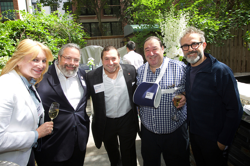 New York, NY - June 13, 2016: The James Beard Foundation and S. Pellegrino host a New York Brunch for the chefs and journalists visiting the city or the World's 50 Best events.<br /> <br /> CREDIT: Clay Williams for the James Beard House.<br /> <br /> &copy; Clay Williams / claywilliamsphoto.com