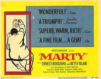 Marty (1955) <br /> Lobby card<br /> *Filmstill - Editorial Use Only*<br /> CAP/MFS<br /> Image supplied by Capital Pictures