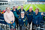 Pictured at the Kerry v Mayo all Ireland semi-final in Croke Park, on Sunday last, were l-r: Brid Stack, Mike Ahern and Mike O'Sullivan (Moyvane) with Kathleen O'Sullivan (Cahersiveen), Dan Stack and Ann Stack Moyvane.