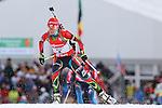 IBU Biathlon World Cup<br /> &copy; Pierre Teyssot<br />  Veronika Vitkova (SVK) in action during the IBU Biathlon World Cup.