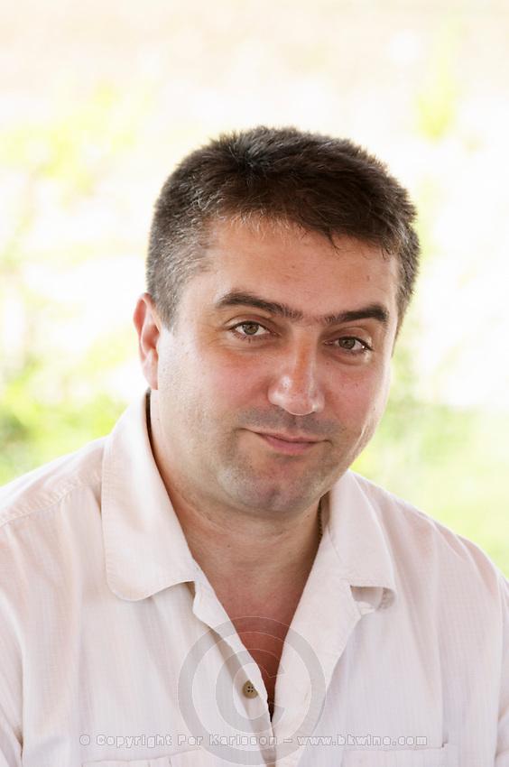 The director manager owner Veselko Cule. Hercegovina Vino, Mostar. Federation Bosne i Hercegovine. Bosnia Herzegovina, Europe.