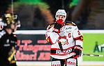 Stockholm 2014-10-14 Ishockey Hockeyallsvenskan AIK - Malm&ouml; Redhawks :  <br /> Malm&ouml; Redhawks Henrik Hetta deppar under matchen mellan AIK och Malm&ouml; Redhawks <br /> (Foto: Kenta J&ouml;nsson) Nyckelord:  AIK Gnaget Hockeyallsvenskan Allsvenskan Hovet Johanneshov Isstadion Malm&ouml; Redhawks depp besviken besvikelse sorg ledsen deppig nedst&auml;md uppgiven sad disappointment disappointed dejected