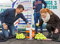 Rotterdam, Netherlands, 10 februari, 2018, Ahoy, Tennis, ABNAMROWTT, KNLTB challenge by the Markthal with Richard Krajicek<br /> <br /> Photo: Henk Koster/tennisimages.com
