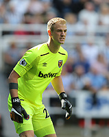 West Ham United's Joe Hart<br /> <br /> Photographer Rob Newell/CameraSport<br /> <br /> The Premier League - Newcastle United v West Ham United - Saturday 26th August 2017 - St James' Park - Newcastle<br /> <br /> World Copyright &copy; 2017 CameraSport. All rights reserved. 43 Linden Ave. Countesthorpe. Leicester. England. LE8 5PG - Tel: +44 (0) 116 277 4147 - admin@camerasport.com - www.camerasport.com