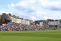 Spectators look on during Yorkshire CCC vs Essex CCC, Specsavers County Championship Division 1 Cricket at Scarborough CC, North Marine Road on 7th August 2017