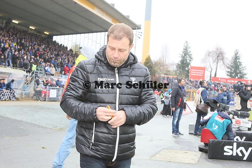 Trainer Frank Kramer (Fuerth) - SV Darmstadt 98 vs. SpVgg. Greuther Fuerth, Stadion am Boellenfalltor