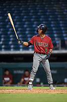 AZL D-backs Glenallen Hill Jr. (6) at bat during an Arizona League game against the AZL Cubs 1 on July 25, 2019 at Sloan Park in Mesa, Arizona. The AZL D-backs defeated the AZL Cubs 1 3-2. (Zachary Lucy/Four Seam Images)