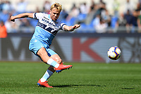 Gil Patric of Lazio in action during the Serie A 2018/2019 football match between SS Lazio and AC Chievo Verona at stadio Olimpico, Roma, April, 20, 2019 <br /> Photo Antonietta Baldassarre / Insidefoto