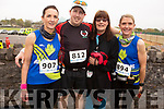 Ready for road at the Tralee Marathon on Saturday morning.<br /> L to r: Lisa Quirke, John and Trish Carey and Caroline O'Sullivan.