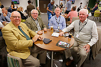 Supporters in the Legends Lounge prior to the Sky Bet Championship match between Swansea City and Bristol City at the Liberty Stadium, Swansea, Wales, UK. Saturday 25 August 2018