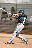Jharmidy DeJesus #54 of the Seattle Mariners plays in a minor league spring training intrasquad game at the Mariners minor league complex on March 27, 2011  in Peoria, Arizona. .Photo by:  Bill Mitchell/Four Seam Images.