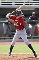 Kris Bryant of Bonanza High School in Las Vegas, Nevada playing for the Legion team at the Tournament of Stars event run by USA Baseball at the USA Baseball National Training Complex in Cary, NC on June 23, 2009. Bryant was drafted in the 18th round (546th overall) by the Toronto Blue Jays in the 2010 MLB draft. Photo by Robert Gurganus/Four Seam Images