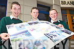 DISPLAY: Causeway Comprehensive students putting on a display at the Ceiliuradh na nOg youth event in Tralee on Tuesday, l-r: Mike Sheehy, Patrick Dineen, Mike O'Connor.